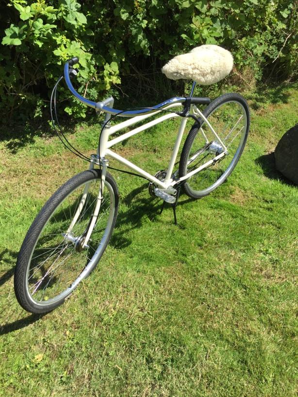 Custom Cruiser by 'Ridable Bicycle Replicas' of Almeda California