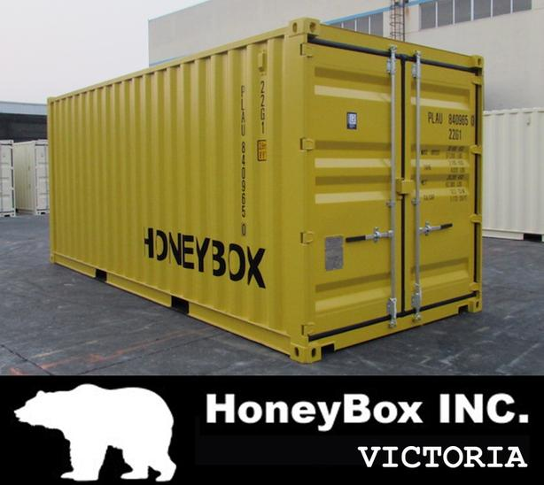 New and used Shipping Containers - HoneyBox INC. - Victoria