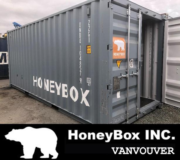 HONEYBOX - VANCOUVER  - 20' And 40' shipping container - New - used - Reefers