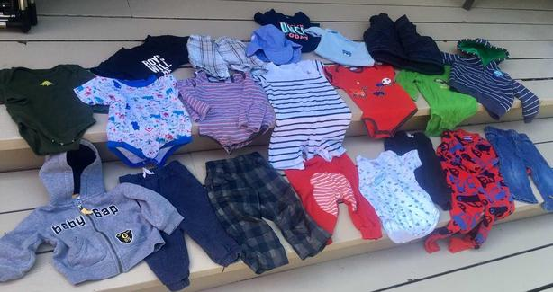BOYS CLOTHING SIZE 12-18 MONTHS