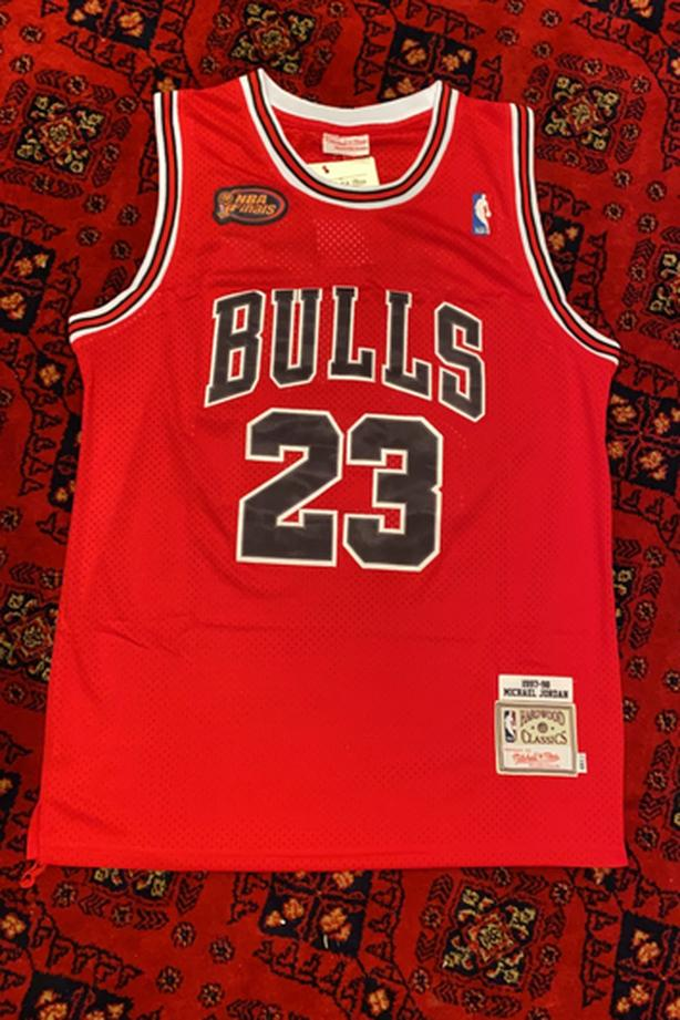 1998-1999 Michael Jordan NBA Finals Jersey