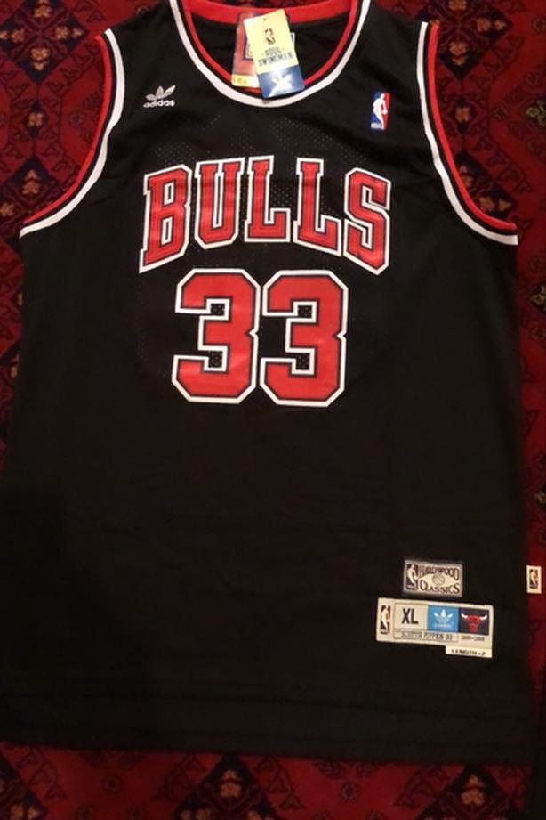 RETRO Scottie Pippen Chicago Bulls Jersey