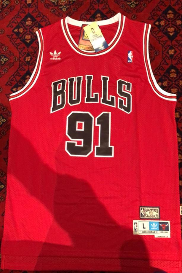 RETRO Dennis Rodman Bulls Jersey