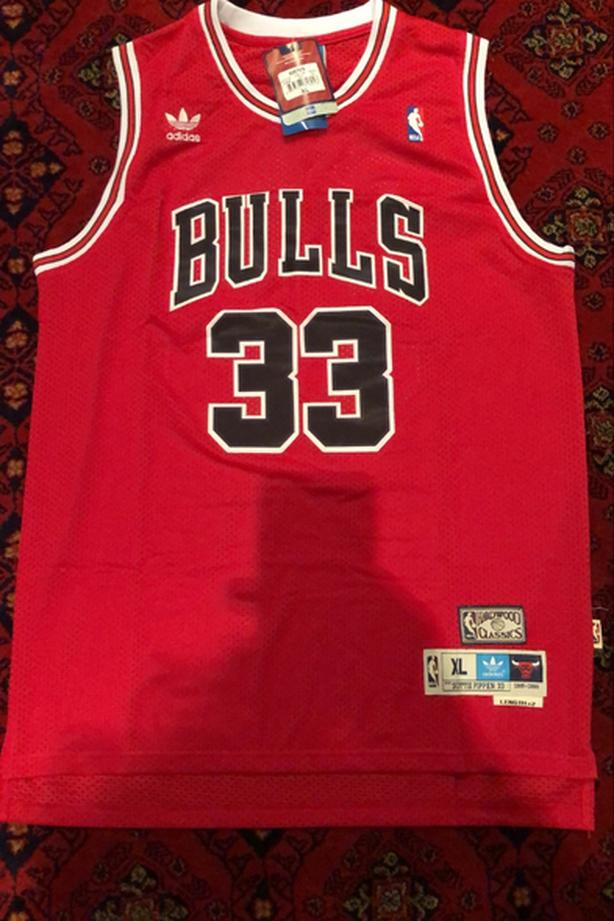 RETRO Chicago Bulls Scottie Pippen Jersey