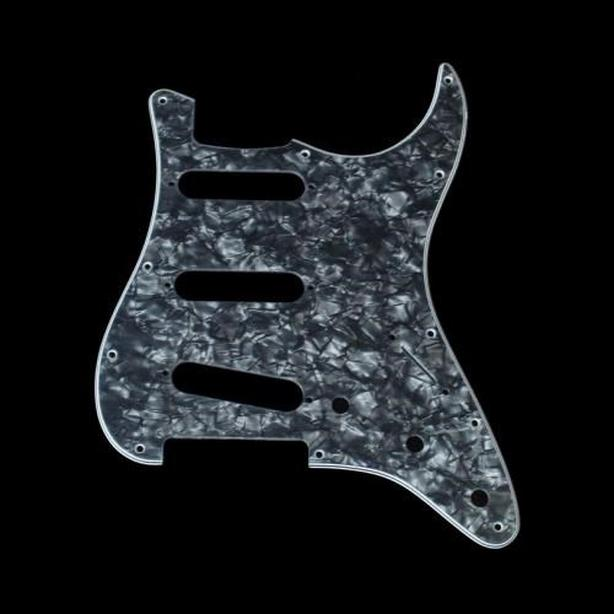 Black pearloid pickguard stratocaster