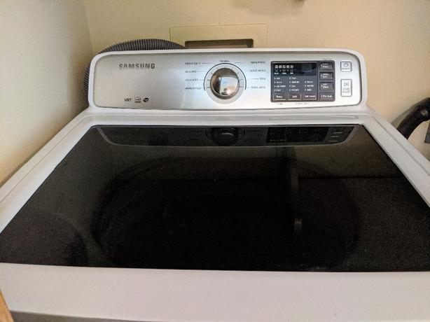 Samsung toploader washer wa45h7000aw/a2