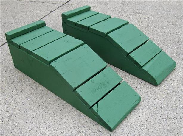 Automobile Ramps ~ 11-inch Lift