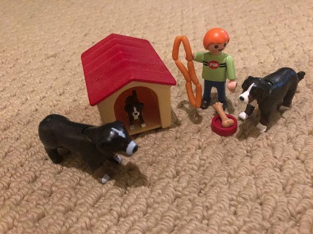 playmobile dog set