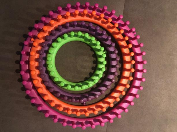 complete set of loom knitting rings