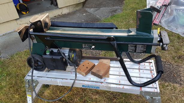 4 Ton Wood Splitter