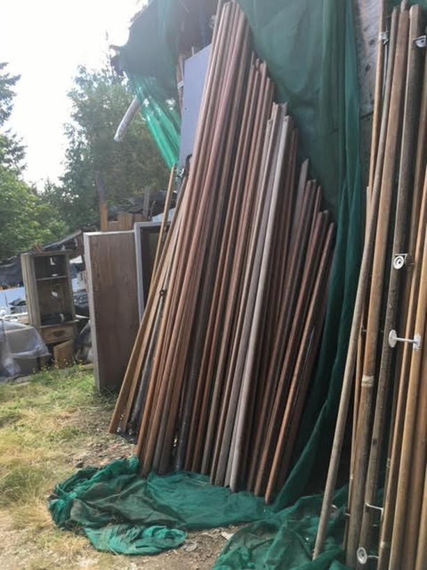 Oak and fir heritage handrails