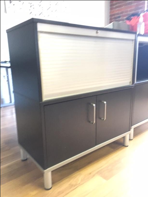 Roll-top Storage Cabinet