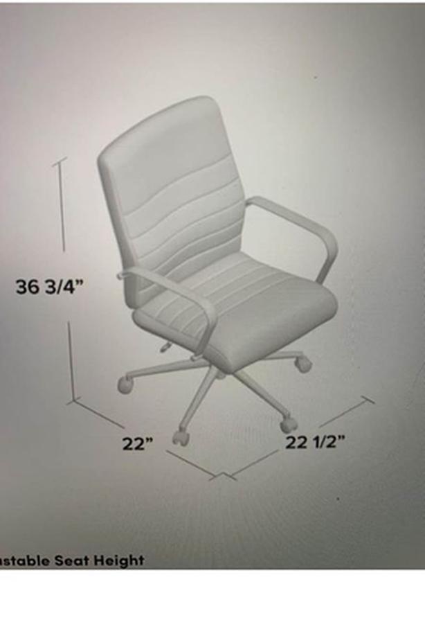 Wayfair red adjustable office chair