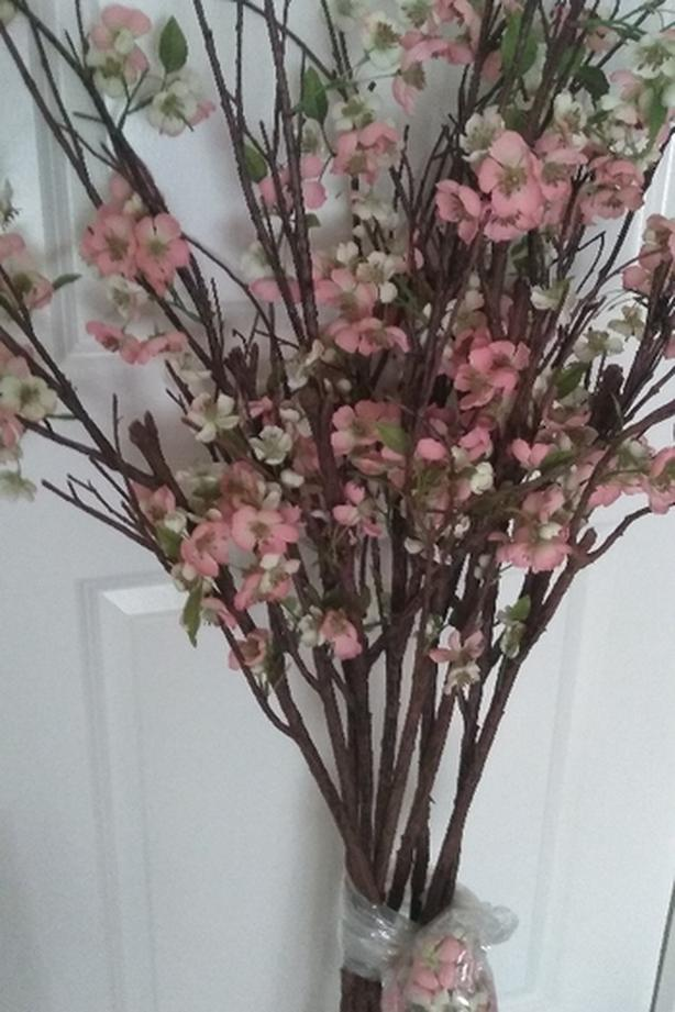 Cherry Blossom Branches, tall, 10!