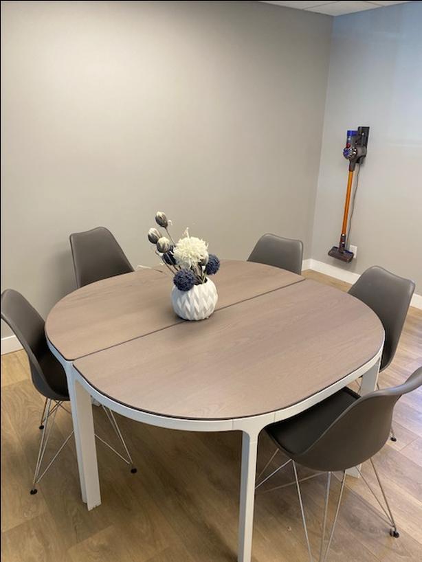 Boardroom or two desks