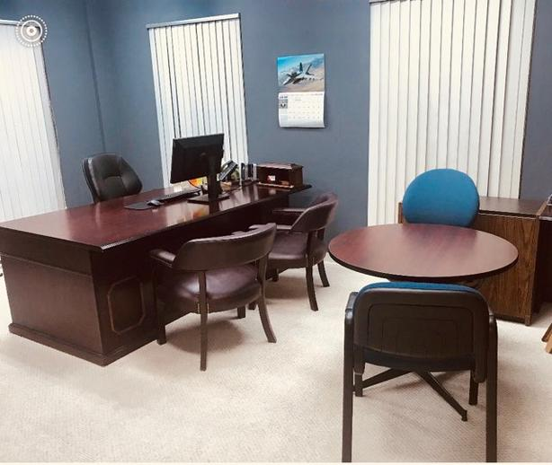LETEAM CALGARY: OFFICE SPACE FURNISHED, FREE PARKING-$475/MTH