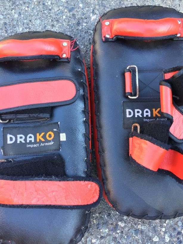 Drako Leather Kick Pads