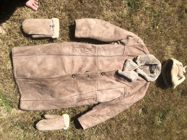 Vintage Sheepskin Coat – They Just don't make them like this anymore