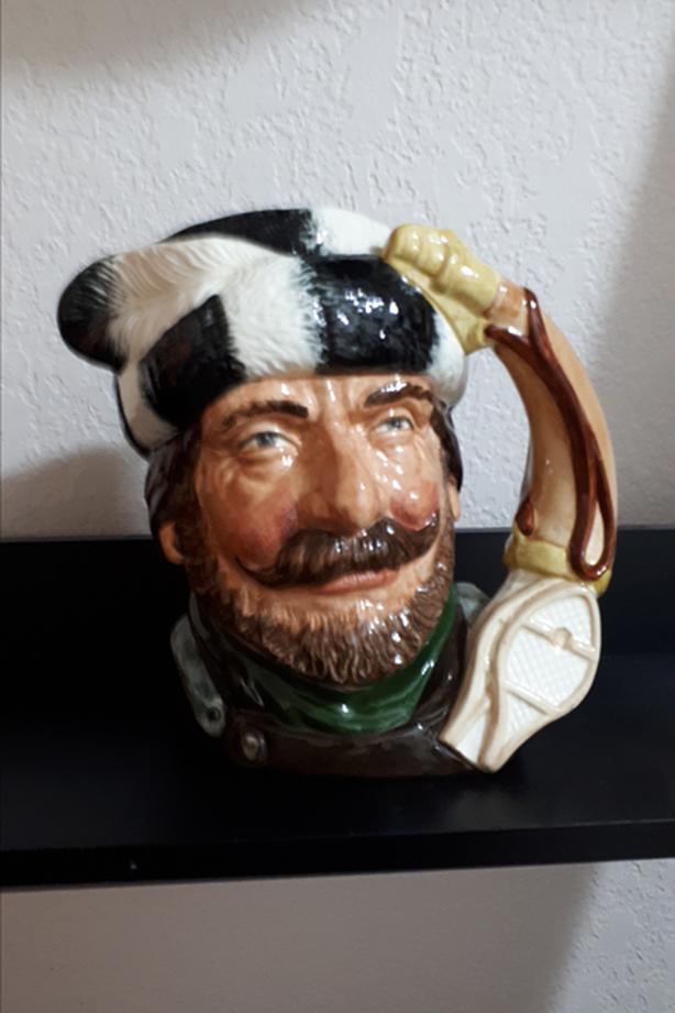 Trapper Centennial D6609 – Large – Royal Doulton Character Jug