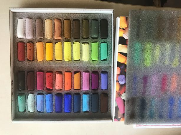 SENNELIER PASTELS High Quality French Soft Pastels (40 colours)