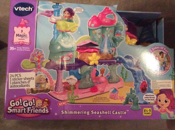 Vetch Gigi friends Shimmering seashell Castle