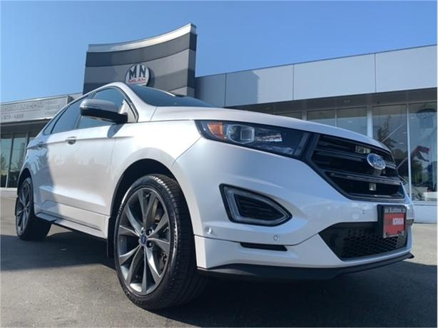 2017 Ford Edge Sport AWD ECO-BOOST LEATHER SUNROOF NAVI CAMERA