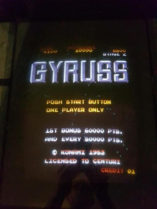 GYRUSS COCKTAIL (Table) GAME