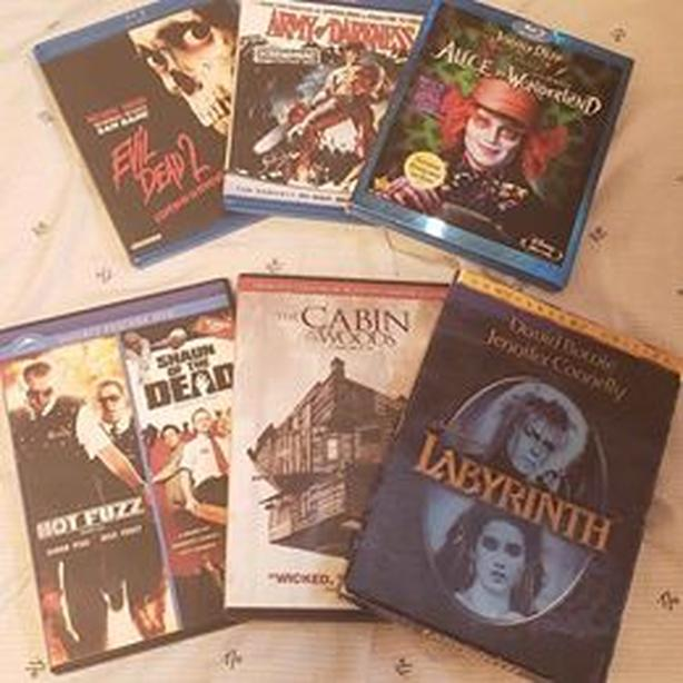 DVDs and Blurays- All for $20