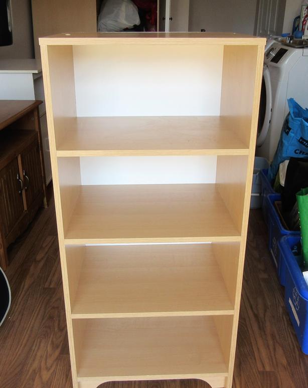 Unit with 4 Shelves in Cedar Colour