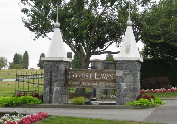 Forrest Lawn Burial Plot - Vancouver