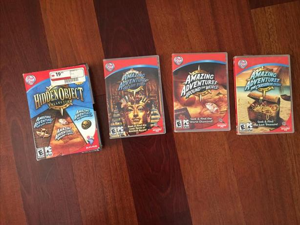 Pop Capp Hidden Object Collection of three PC games
