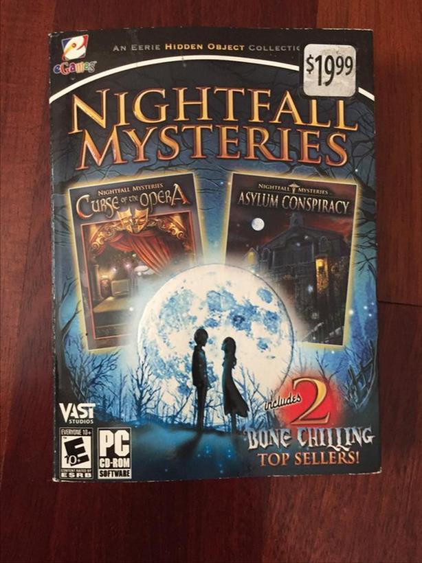 Nightfall Mysteries PC game set