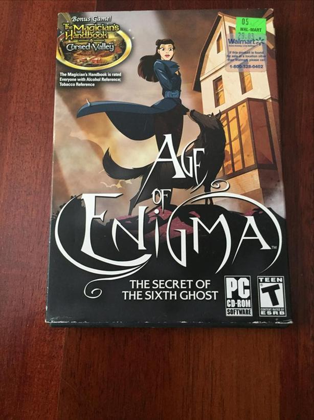 Age of Enigma The Secret of the Sixth Ghost and Bonus Game for PC