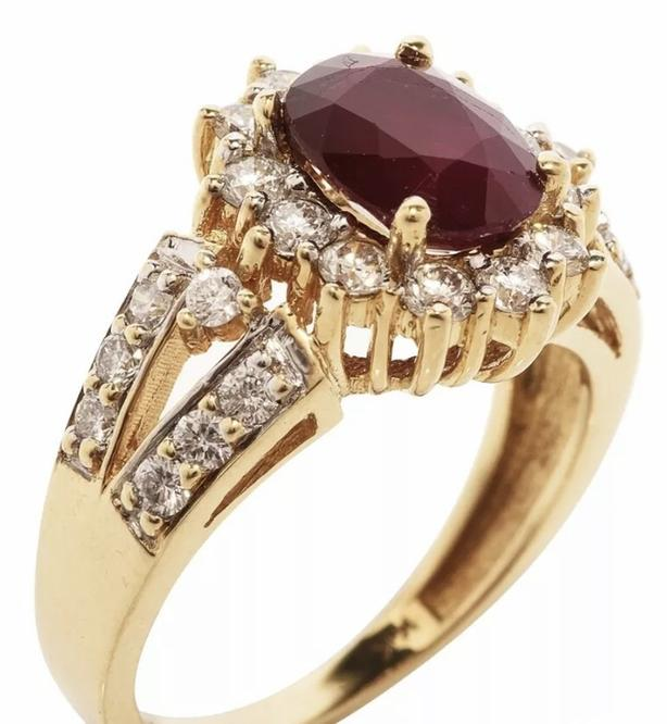 Gorgeous 2.25 Carat Ruby Ring