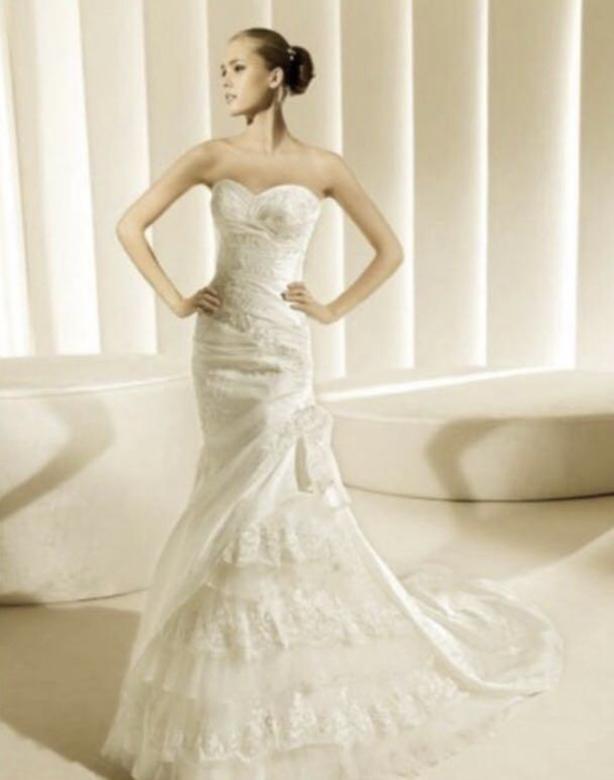 La Sposa Madeira Wedding Dress Size 6