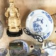 Antique Cloisonne, Wall Art, Crystal, Silver, Books