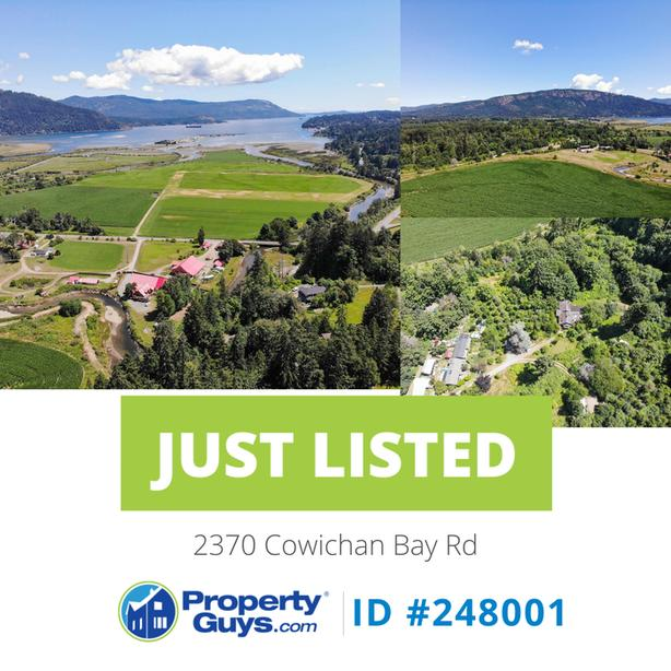 Stunning ocean views and backing on to the Cowichan Bay Golf Course!!