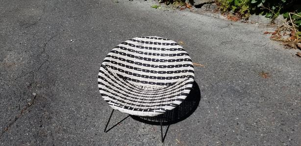 Vintage 1960's childs chair
