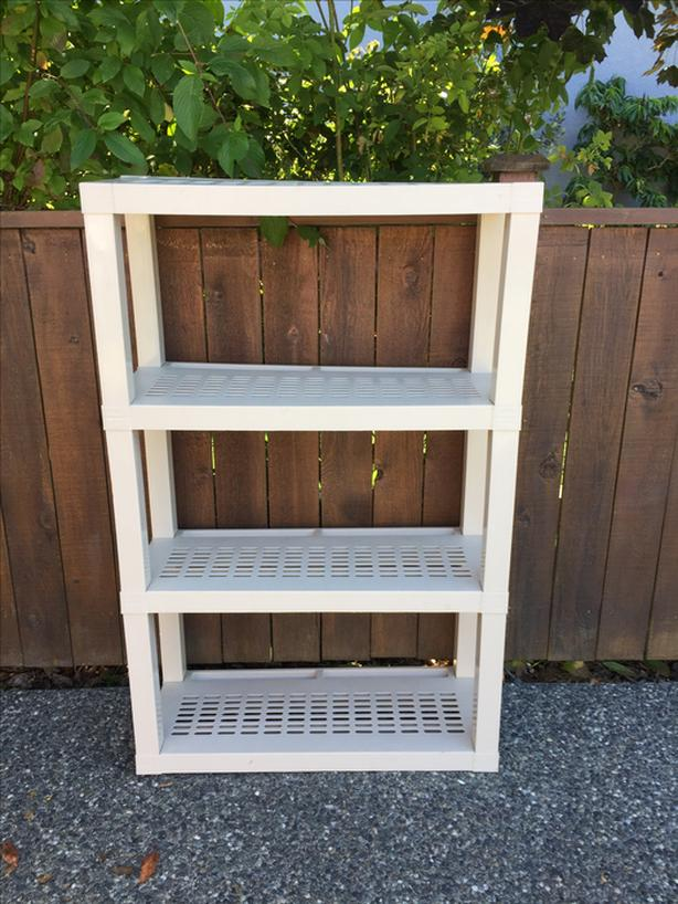 STRONG ADJUSTABLE & COLLAPSIBLE SHELF UNIT