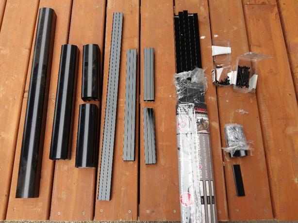 Black Aluminum Railing Pieces