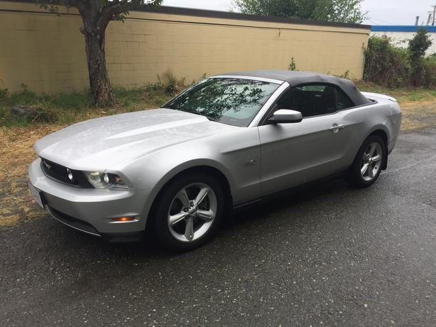 2012 Ford Mustang GT 5.0 Convertible