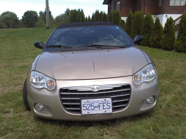 CHRYSLER SEBRING 4-seater CONVERTIBLE, Excellent condition