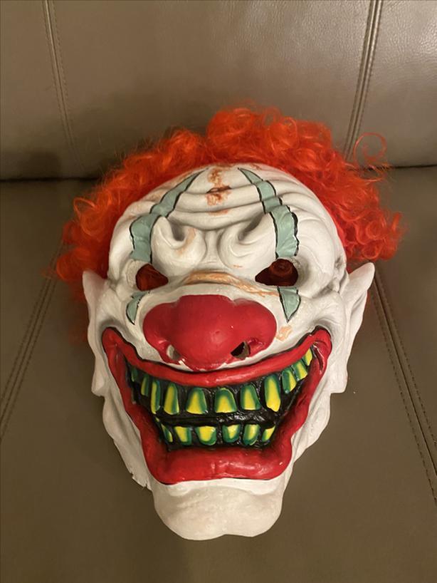 Halloween masks for $50