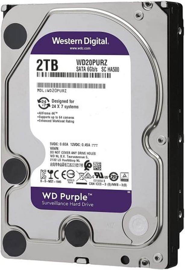 StarTech CAse & Western digital Purple HD for PVR or Security