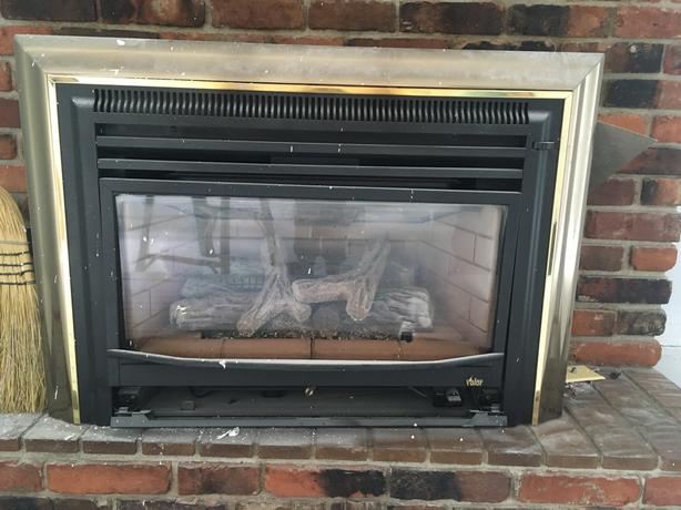 Old Valor - brand Gas Fireplace Insert