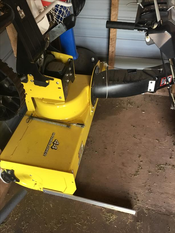 "44"" Snow Blower for John Deere Tractor"