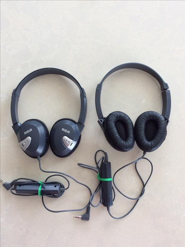 Two Noise-Cancelling Headphones