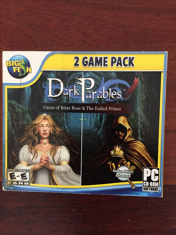 Dark Parables Curse of Briar Rose and The Exiled Prince