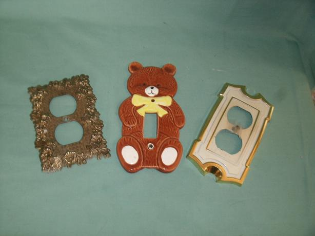 FREE: Light Switch Cover - Bear -
