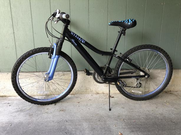 Kid's bike, 21 speed, 24-inch wheels